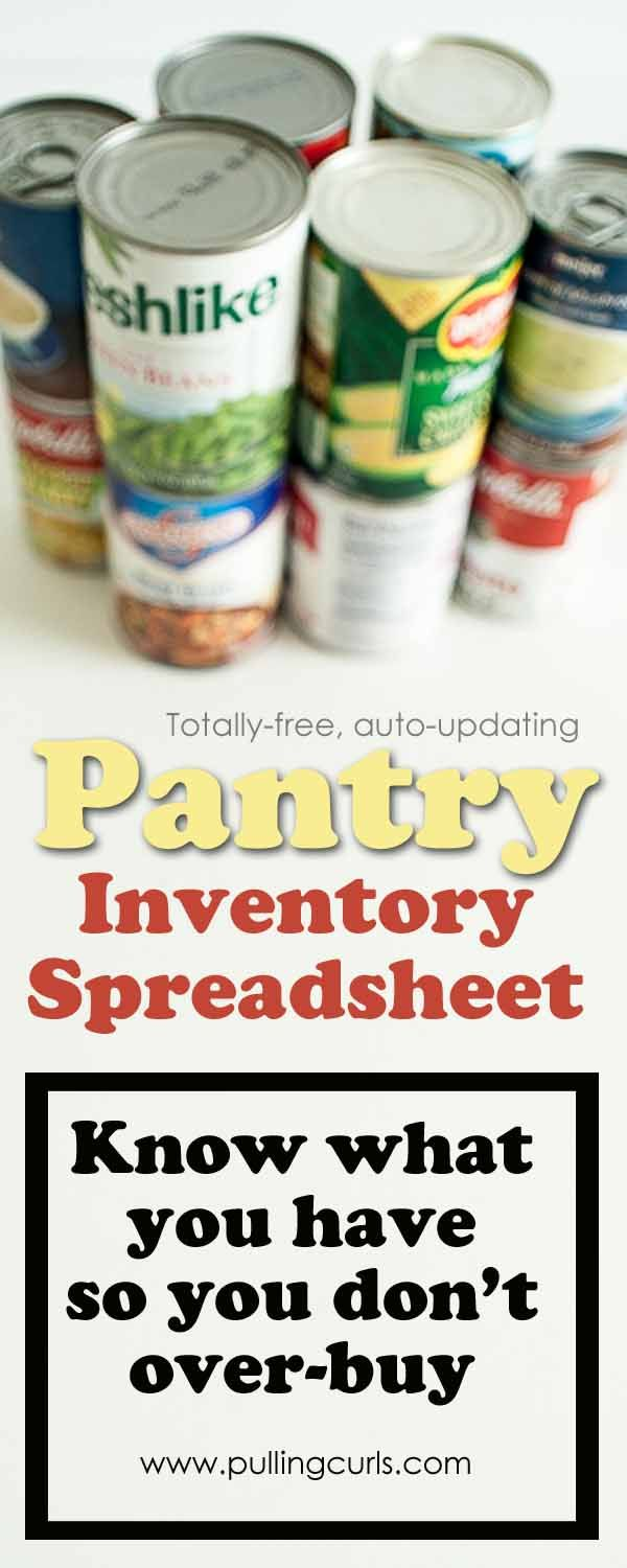 Best 25+ Pantry inventory ideas on Pinterest