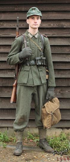 German Artilleryman 1944