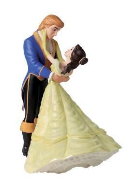 Wedding In Los Angeles: Beauty And The Beast Wedding Cake Topper - The Wedding Specialists