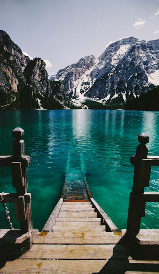 Pragser Wildsee in the Prags Dolomites of South Tyrol, Italy • photo: Elena Morelli on A Visible Sign Of My Own