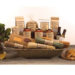 17 best gift baskets sets images on pinterest gift baskets shop rossi pasta for our varieta grande gift basket this basket is full of italian foods ranging from pastas to sauces and everything in between negle Images