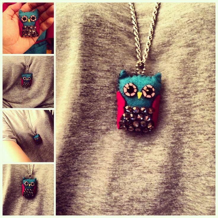 DIY Owl Pendant by teyyyerrrsss.deviantart.com on @deviantART