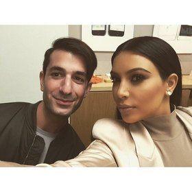 """Kim Kardashian West Reveals Her Trick for Lighting the Perfect Selfie"" - Vogue Magazine"