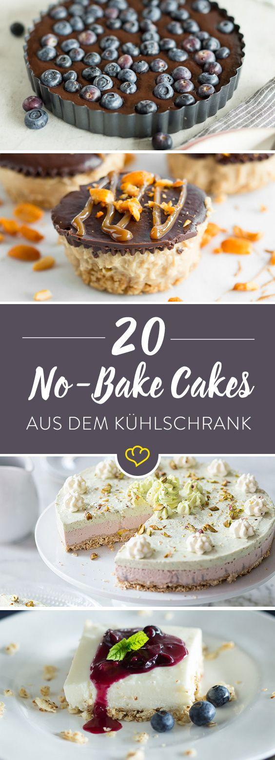 No-bake Cakes: die 22 besten Kuchen aus dem Kühlschrank