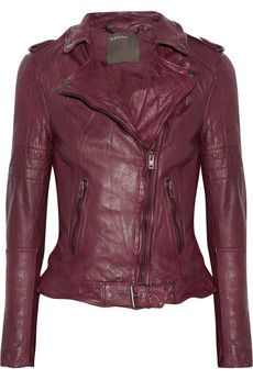 Muubaa Nido quilted leather biker jacket | THE OUTNET