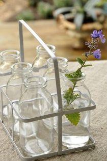 bouteilles en verre décoration -modern confettis