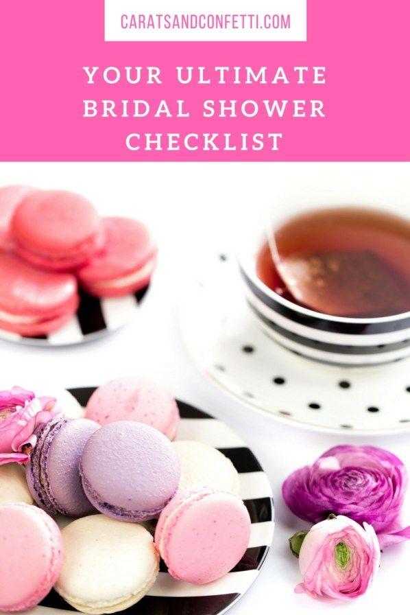 Mer enn 25 bra ideer om Bridal shower checklist på Pinterest - bridal shower checklist