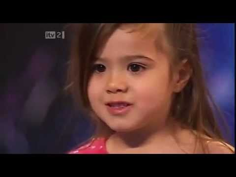 """4 Years Old Shakira Dancing Salsa.mp4 - this is really screwed up.  I don't get the audience reaction, the fringes, the shimmy, why basically a toddler is getting told she's """"the prettiest girl they've seen"""", you even see her underwear.  Very discerning."""