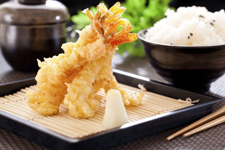 Oppskrift på tempurarøre med Hoff Potetmel, som er perfekt til å fritere både rå fisk, skalldyr og grønnsaker.