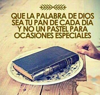 Gracias Dios por darme esa hambre y desear más de tu palabra en mi alma y corazón.