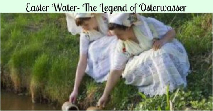 What is Osterwasser? Why is it so special? Read the Pomeranian legend of Easter Water here, then decide if you want to follow the old or new tradition.
