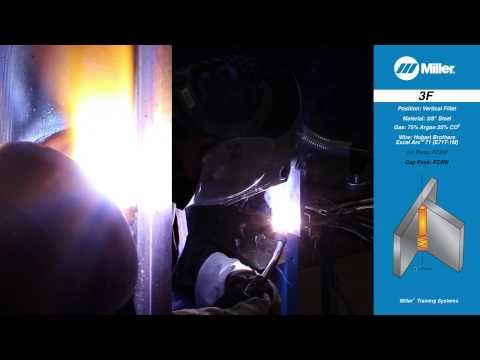 Welding Certification Position 4G: Overhead Groove Weld - YouTube