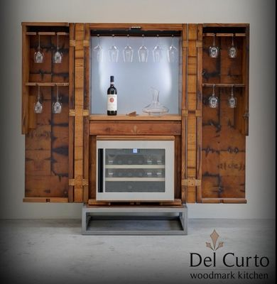 Vintec Refrigerated Wine Cabinets, made in Italy. www.artaccademia.com