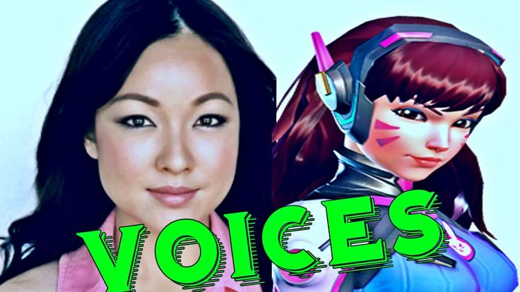 D. VA: All Voice Lines - Overwatch Voice Actors Overwatch Characters lin...