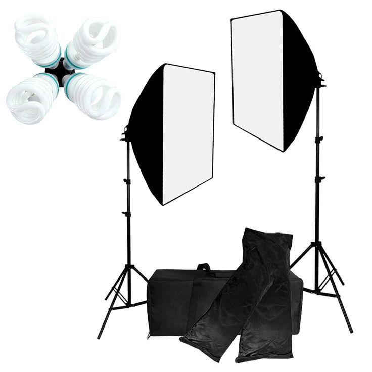 Pro Studio Photo Lighting Kit
