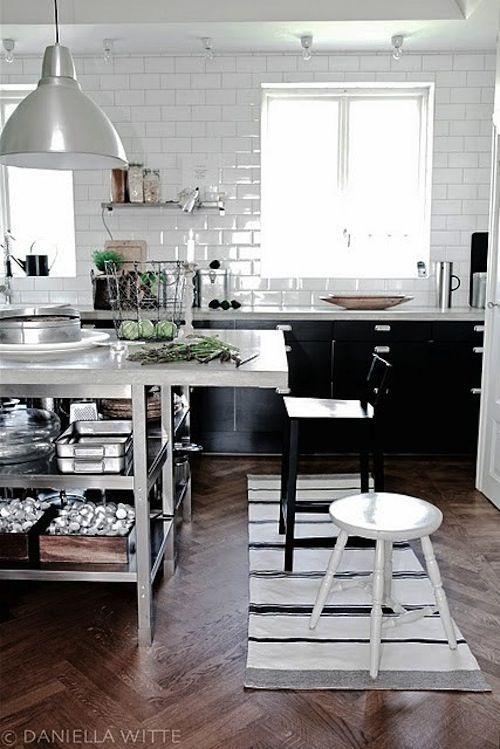 41 Best Kitchen Tile Backsplash White Black Images On
