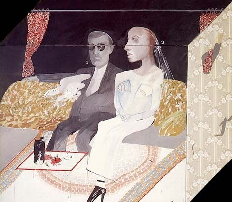 The Second Marriage, 1963, David Hockney