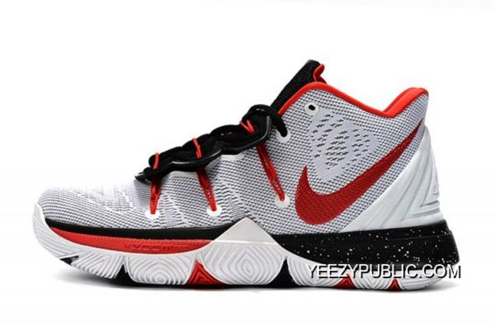 kyrie black and red