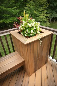 +deck With +built In +seating +planters Design Ideas, Pictures, Remodel, and Decor - page 66