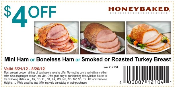 Honey baked ham coupons printable 2018