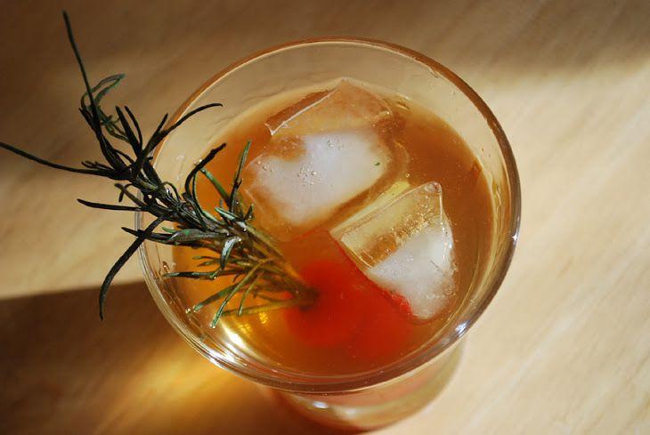 Grilled Rosemary Sazerac Recipe
