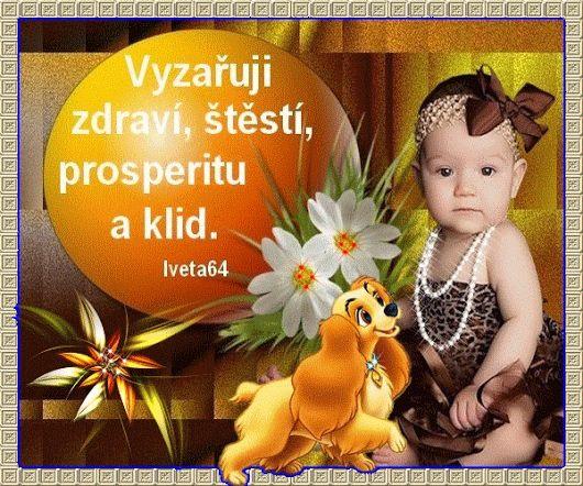 AFIRMÁCIA: Vyžarujem zdravie, šťastie, prosperitu a pokoj.