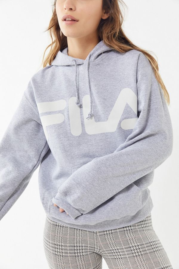 Slide View: 1: FILA UO Exclusive Reflective Logo Hoodie