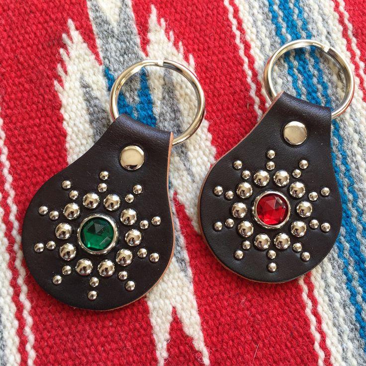 Ace Western Belts, Key Rings. (made in japan, craftsmanship, studded belt)