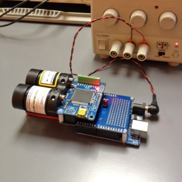 Laser Rangefinder Brought to Life With Arduino http://ift.tt/1ZYYI7p