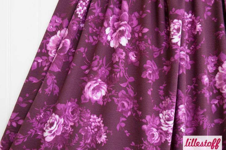 Lillestoff Woman » Purple Rose « // hier erhältlich: http://www.lillestoff.com/purplerose.html