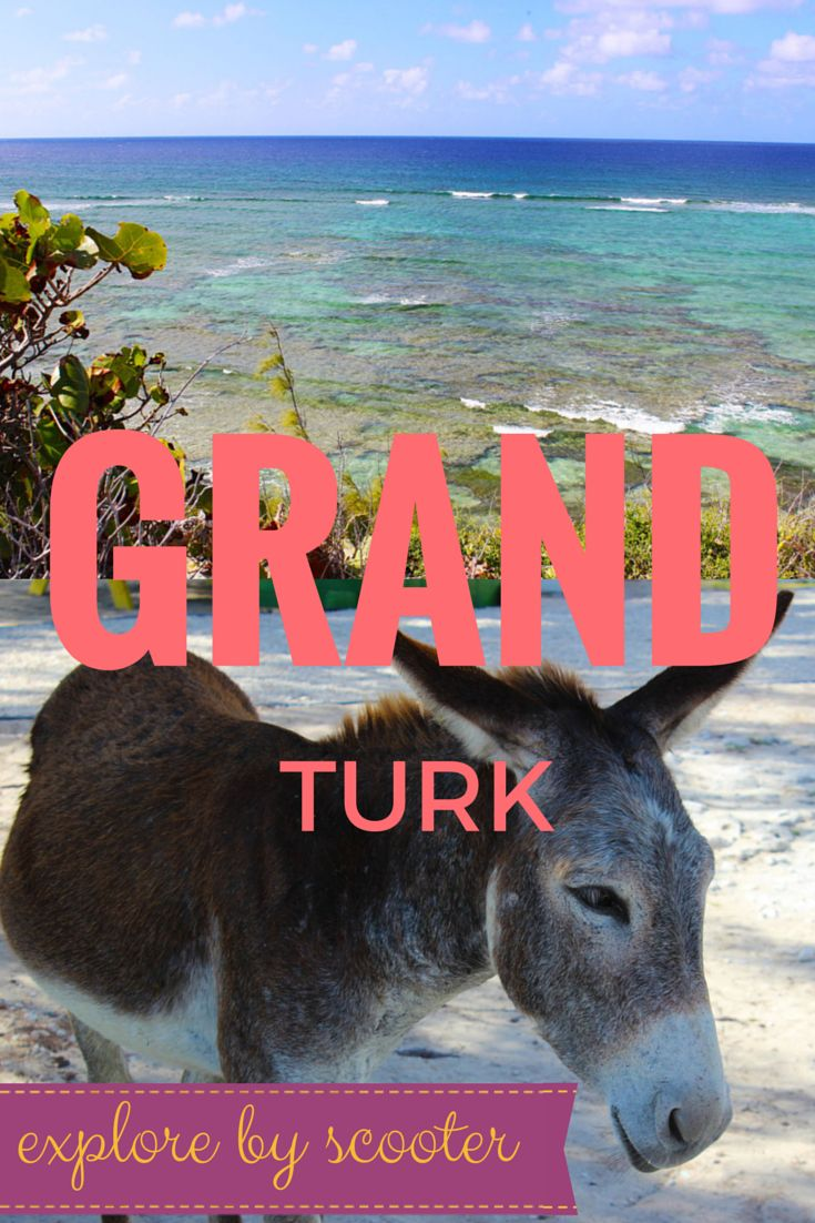 Riding Scooters in Grand Turk: The Best Way To See The Island (Turks and Caicos) I just went!