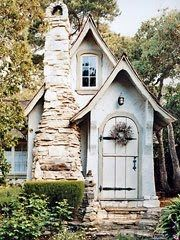 Hansel Cottage, one of Hugh Comstock's Fairy Tale Cottages in Carmel, California. small houses are the best