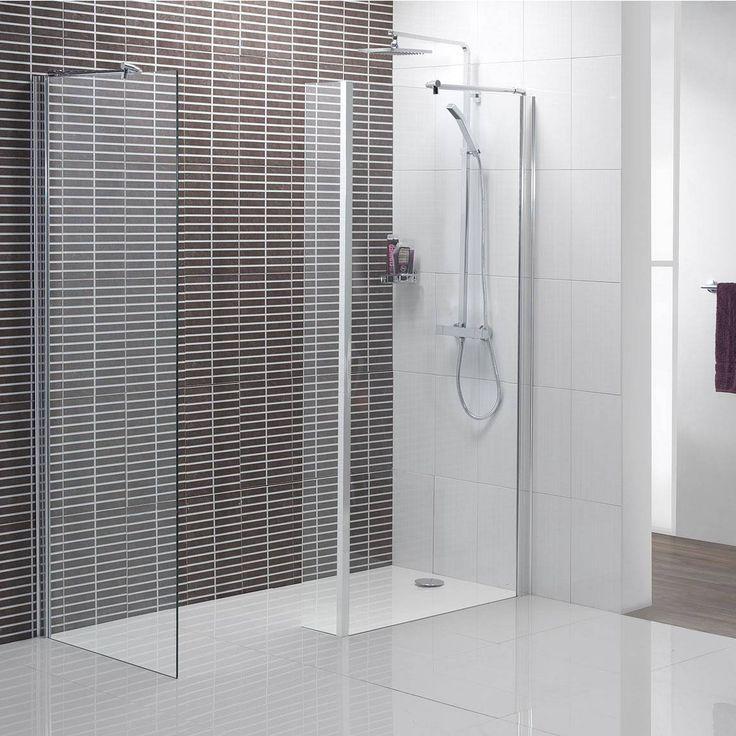 Shower Glass Panel for Contemporary Bathroom Styles - http://www.amazadesign.com/shower-glass-panel-for-contemporary-bathroom-styles/