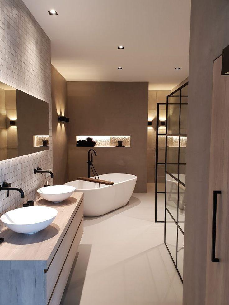 A Beautiful Wellness Bathroom Designed And Delivered Badezimmer Badkamer E Modern Bathroom Design Bathroom Interior Bathroom Interior Design