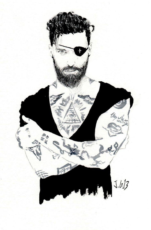 Tattoo beard 2