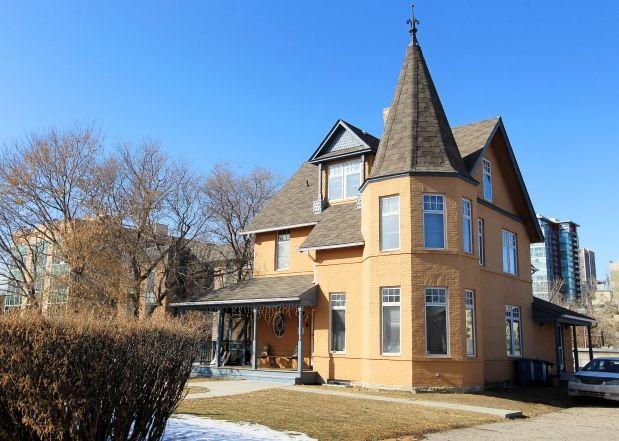 Historic McHugh House saved from demolition. (Calgary Herald news article-Feb 24/14)
