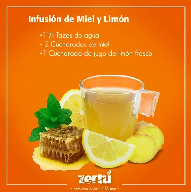 Esta INFUSIÓN DE MIEL DE ABEJA CON LIMÓN es muy buen remedio para cuando sientes que te vas a resfriar. Recuerda que la miel de abeja te ayudará a fortalecer tu sistema inmunológico. Lo único que tienes que hacer es poner tu agua a hervir, agregar la miel y el limón y disfrútala de preferencia antes de dormir bien calientita. ¡Pruébala!  #NessZertú #foodie #foodporn #recetas #ayurveda #saludable #felicidad #zen #comesaludable #todonatural #zertumismo #comersano #dietasaludable