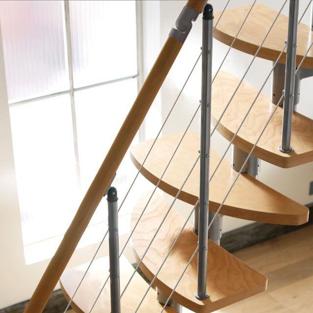 Beautiful Escalier Peu De Place #14: Escalier Gain De Place Inversio - CASTORAMA