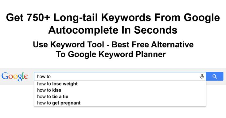 Doing SEO or PPC? Start using KeywordTool.io today to find hundreds of relevant long-tail keywords that will help you to get more traffic that converts!