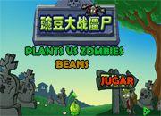 Plants vs Zombies Beans | Juegos Plants vs Zombies - Plantas contra zombies