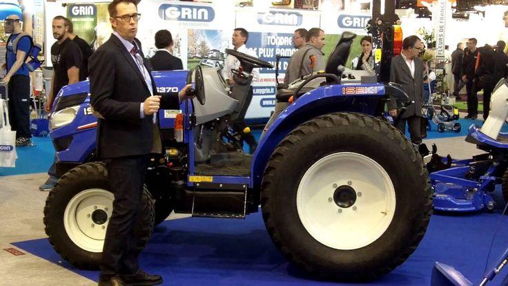 ISEKI FRANCE : Sébastien BARBIN présente un nouveau tracteur compact de ...