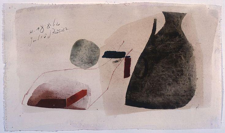 Archivio Bissier / Opere / Tempere ad uovo