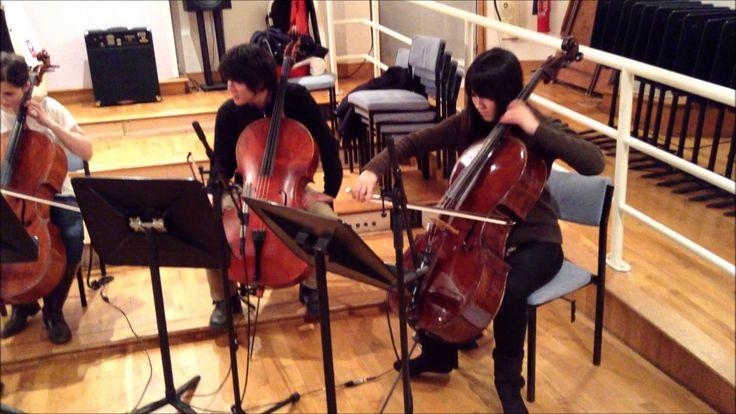 R. Sanderson - Reality [La Boum soundtrack] by Diversion Cello Ensemble