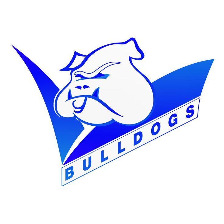 Canterbury Bulldogs Mortal Kombat BW Logo by Sunnyboiiii