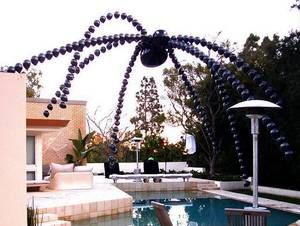 73 best images about halloween pool style on pinterest - Halloween swimming pool decorations ...