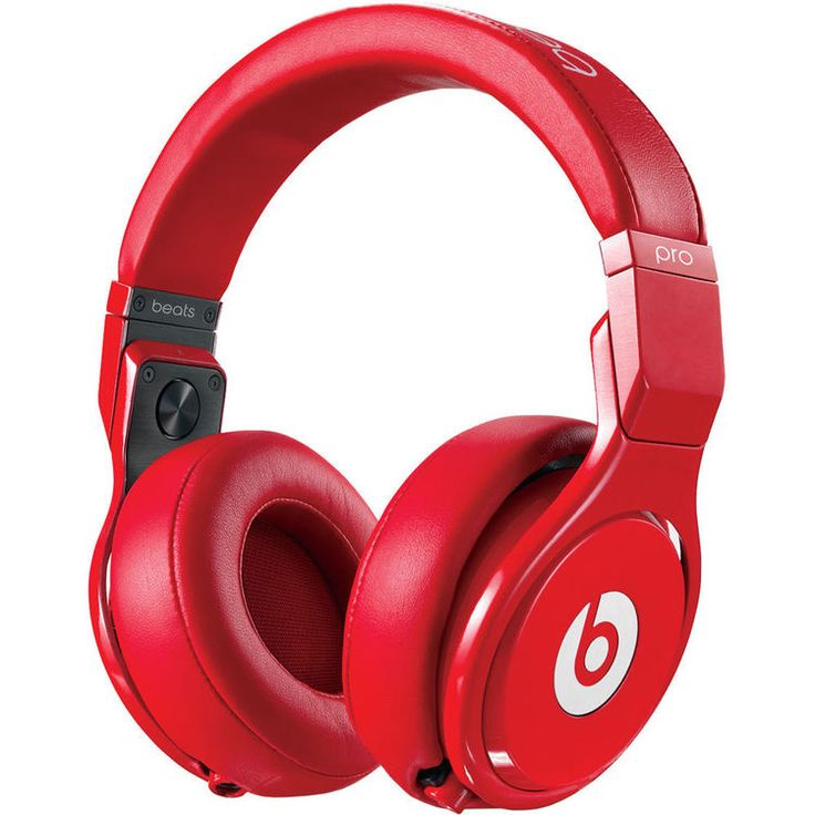 The Pro - High-Performance Studio Headphones by Beats by Dr. Dre are over-ear headphones designed to provide sound isolation and an even frequency response across the spectrum. Made for sound engineer