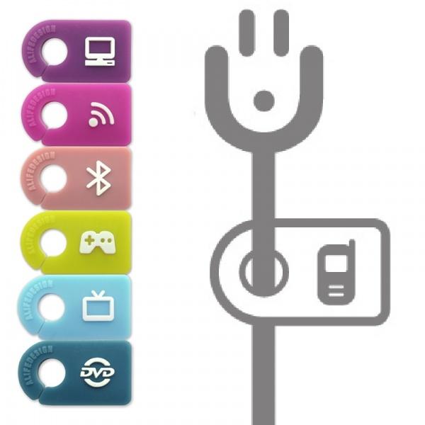 Kabelmarkierer / Kabelmarker Plugtag Unterhaltungselektronik - ALife Design