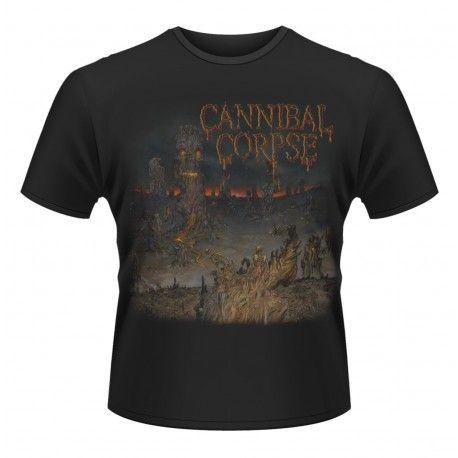 Tricou Cannibal Corpse: A Skeletal Domain