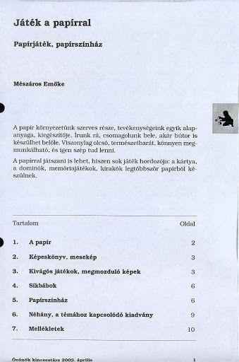 C1-11 - Játék a papírral - Angela Lakatos - Picasa Webalbumok