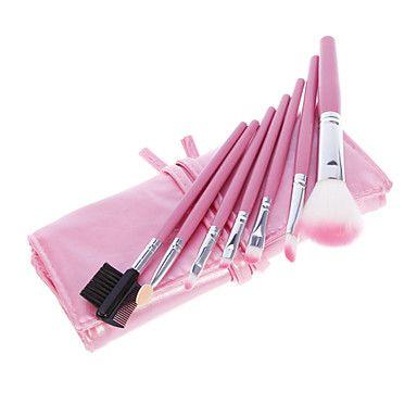 Charming Pink Animal Hair Makeup Harjat Set of 7 - EUR € 2.57